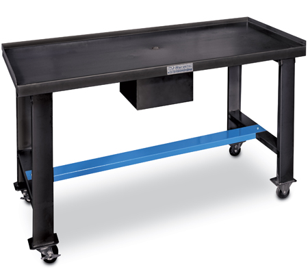 Portable Shop Table With Reservoir Tank