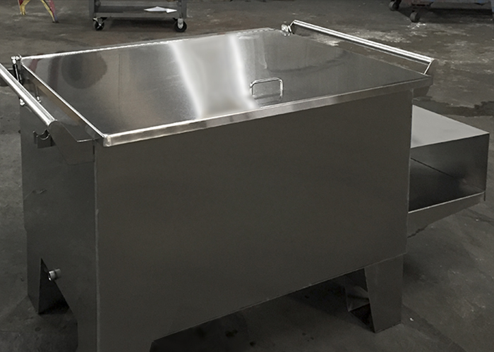 Custom Fabricated Stainless Steel Tank
